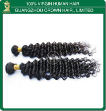 Best selling no shedding or tangle cheap 100 percent indian remy human hair wholesale