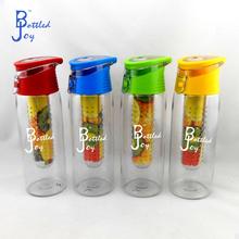 travel joyshaker water bottle, fruit infuser filter water bottle sports bottle 2015