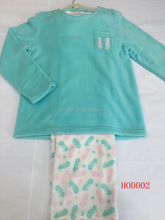 ladies coral fleece pyjamas (stock)