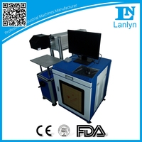 Fast speed co2 RF metal tube laser marking machine for tire