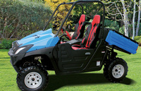 Durable 5kw electric farm vehicle utv 4x4