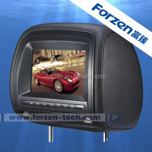 7 inch ford headrest dvd player with digital pannel