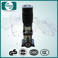 CDLF4-5 high performance 1.5hp 5 stage 40m head inline water booster pump