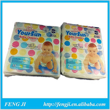 Non-woven fabric back sheet with ADL baby diaper