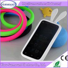 protective bumperframe mobile phone case rabbit ear cellphone case