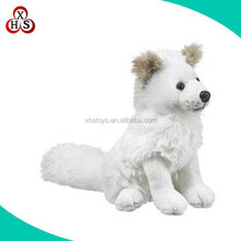 OEM Design White Wolf Plush Toy