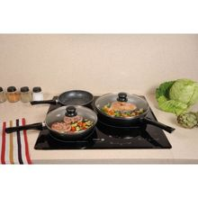 High quality Nonstick Ceramic pressed frying pan Frypan induction mini frypan