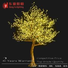 2015 New outdoor super simulation acrylic cherry blossolm flower light tree
