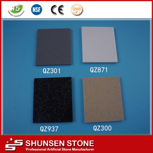 Best quality in China fine grain models artificial engineered quartz stone