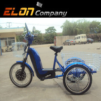 2016 new products electric 3 wheel bicycle (E-TDR07)
