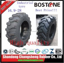 16.9-28 17.5L-24industrial tyre for China good performance backhoe tires R4 parrent