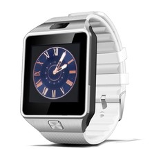 """Best selling 1.56"""" touch screen smart watch phone dz09 with sim card for android phone"""