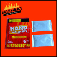 Disposable Chemical Reaction Warmer & Instant Heat Pack & Hand Warmer for UK market