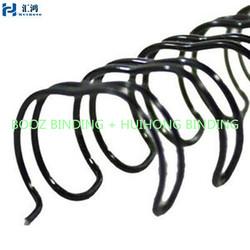 "1- 1/4"" WireBind Binding Spines 2:1 Pitch- Black"