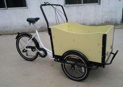 Popular cheap reverse rickshaw pedal cargo tricycle