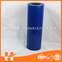 2015 hot self adhesive Chinese blue protective film