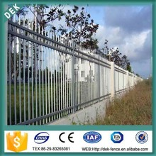 galvanized and color steel picket fence panel