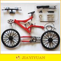 DIY Assembled Alloy Bike Model