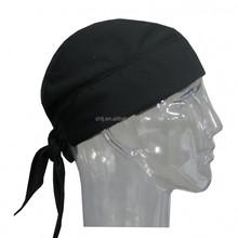 wholesale biker meshed black Halo Headband Protex Skull Cap