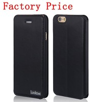 Factory Price Flip Leather Cheap Mobile Phone Case For iPhone 6, Case For iPhone 6