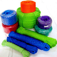 plastic poly rope ,twine and cord