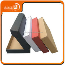 standard apparel suit package of recycled kraft paper boxes