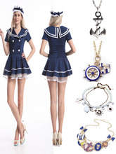 Instyles walson Sexy Womens Sailor Fancy Dress Costume Outfit Uniform Lingerie Hen Party
