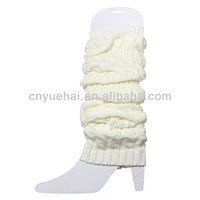 100% Cotton Knitted Womens Leg Warmers