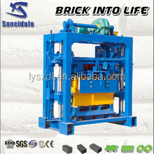 QT40-2 equipment for production of blocks, equipment for small business at home