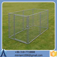 2015 Baochuan characteristic hot sale wrought iron dog kennel/pet house/dog cage/run/carrier