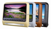 9 inch car headrest dvd player with wireless game USB/SD/IR/FM/HDMI/MHL/Speakers WS-9799D