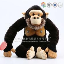 Graint black plush Gorilla toys