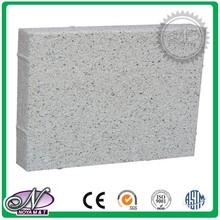 High strength anti-slip water permeable paving blocks
