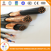 Copper medium voltage braided shield control cable
