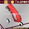 Red Golf Club Push Cart Rain Cover