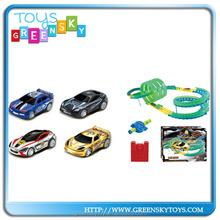 Track parking lot SET go karts kids games toy cars