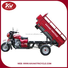 200cc cargo three wheels motorcycle with head hood