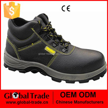 Mens Work Safety Shoes Leather Boots Steel Toe Cap Ankle Boots Shoes Trainers 450614