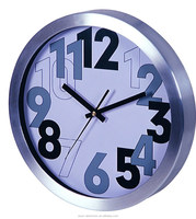ESUN Aluminium metal wall clock/decorative wall clock/personalized wall clock
