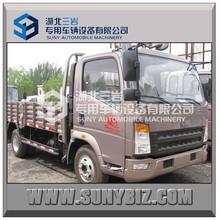 SINOTRUK HOWO 4x2 mini cargo truck goods van lorry