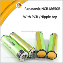 3400mAh Protected Rechargeable 3.7V Battery Li-ion 18650 Wholesale Batteries