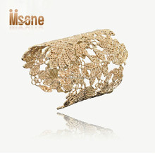 Hollow out design gold plated jewelry copper alloy fashion bracelet jewelry