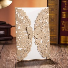 Fashionable updated wholesale beautiful wedding cards