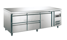 Fashionable design refrigerator with drawer