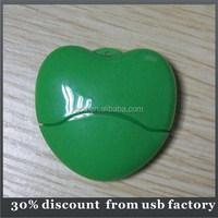 popular bulk 8GB plastic housing usb flash drive