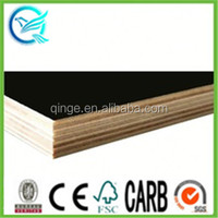 25mm melamine slip black film hardwood film faced plywood