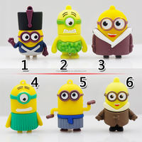 Minions 2015 USB Flash Drive 64G/32G/16G/8G/4G Minions 3 Pen drive Despicable Me Pendrive 64g Memory stick U Disk flash card