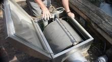 High quality drum filter for fish farm, Koi pond, aquaculture