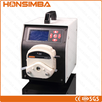 100% Guaranteed ISO CE BT-500 Peristaltic Pump Two nozzles Sex lubricant filling machine