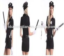 Walson Ladies Fancy Dress Womens Plus Size Cops Uniform Costume instyles party